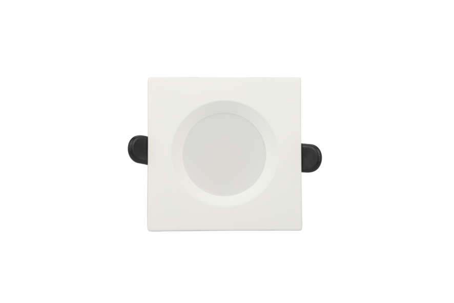 Rx Dl50 Downlight 8W Cct Square White 02